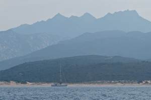 Corsica anchorage