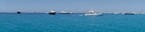 Formentera anchorage