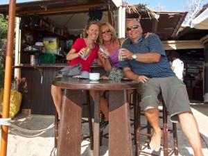 Happy Hour at the Beach Bar