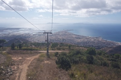 Cable car to Erice