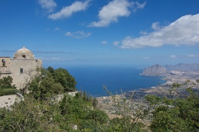 Sea view from Erice