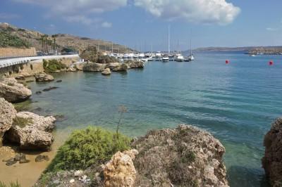 Mgarr Marina integrated in nature