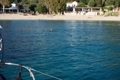 Palaiokastritsa swim