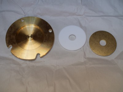 Cover plate with discs