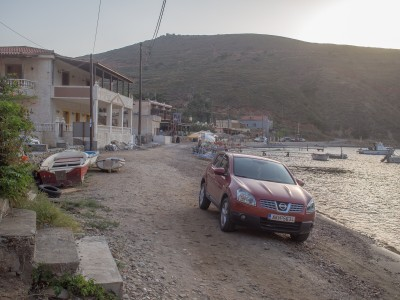 The only road in Porto Kayio