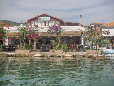 Hassan Restaurant in Kekova