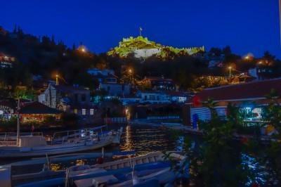 Kale Köy by night
