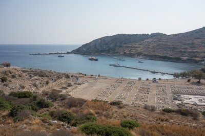 Knidos anchorage