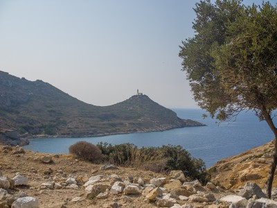 View of Knidos lighthouse