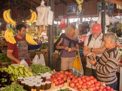 Visit to the market in Fethiye