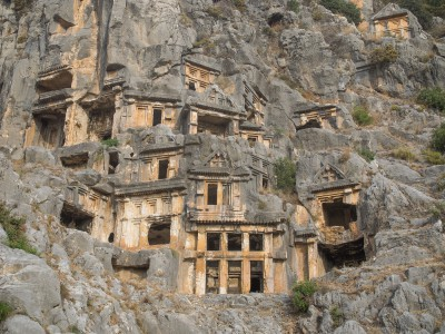 Tombs in Myra