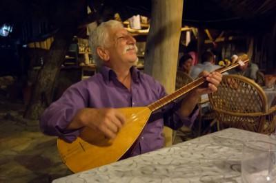 Raki, Raki, Raki is what he sang! I wonder why?