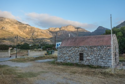 Tilos mountains