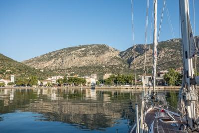 Antikyra from the boat