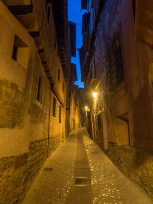 Empty streets in Albarracin