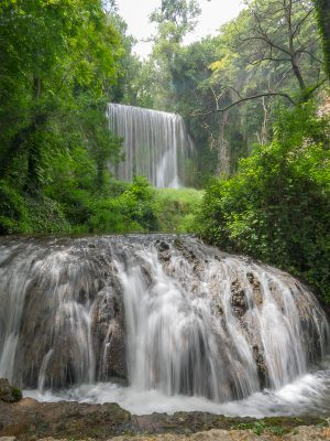 Waterfalls in Monastery de Piedra