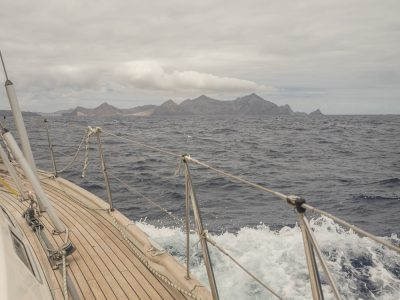 Porto Santo after 79 hours and 540 Nm
