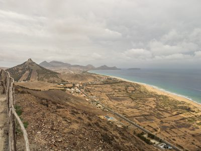 Port Santo looking east